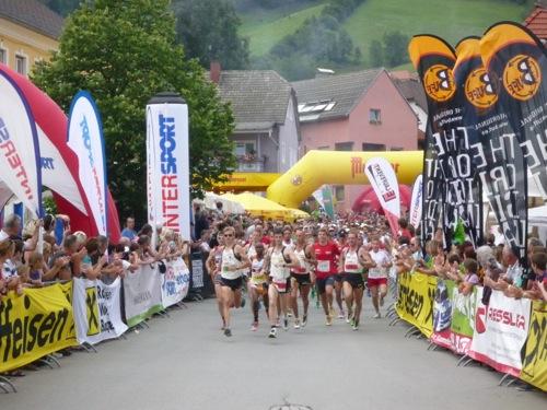 Der Start zum Klassiker, dem Halbmarathon