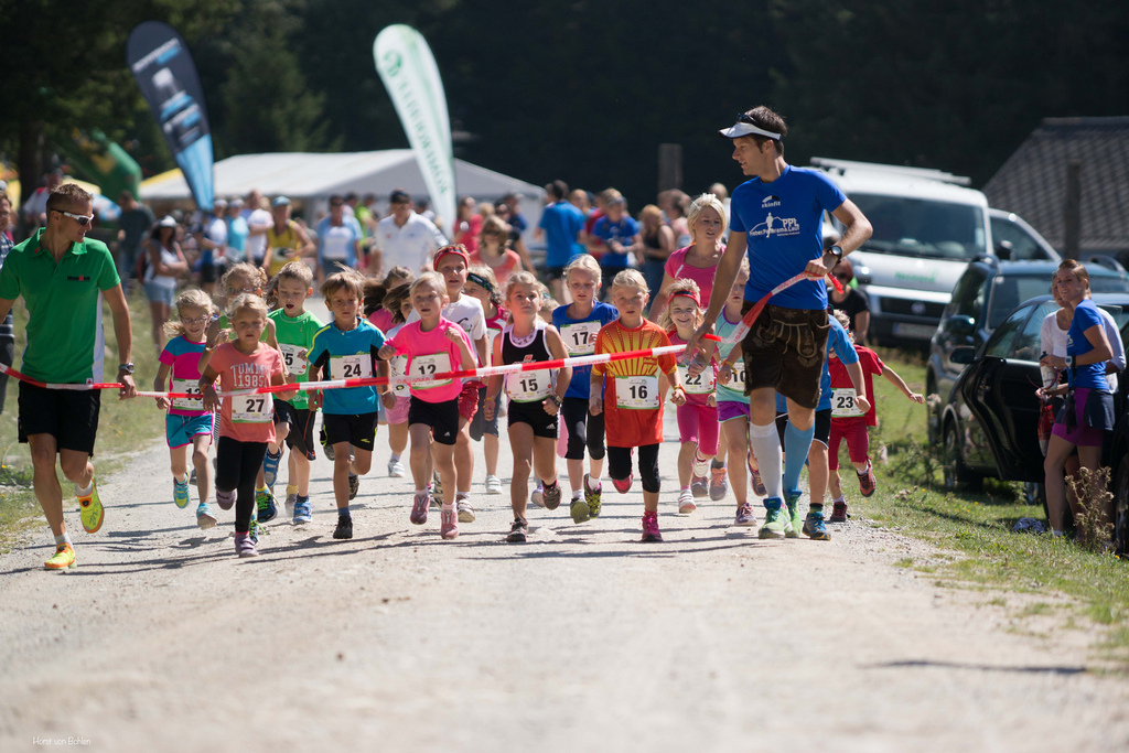 Kinderlauf beim Preber Panorama-Lauf