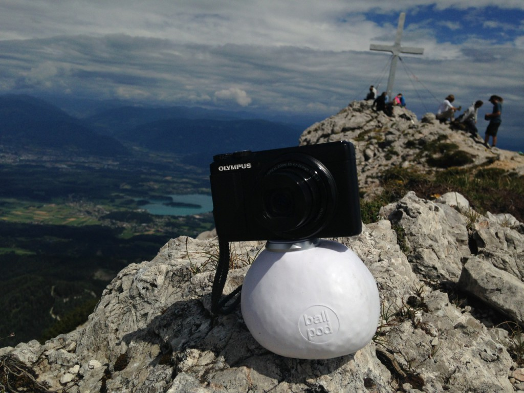 Ballpod in Action am Mittagskogel